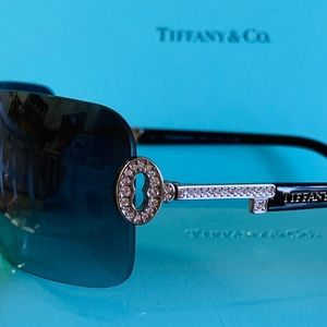 Tiffany & Co. Frameless Black with Crystal Keys